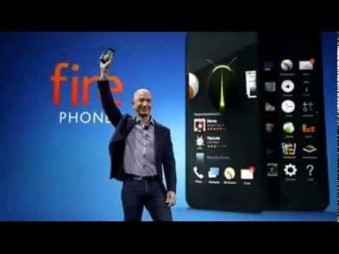 Amazon's newly announced Fire phone