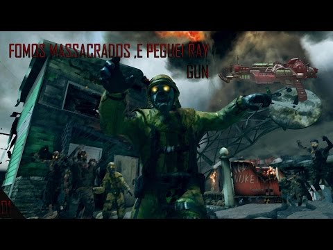 BO 2 Zombies 1 # Fomos massacrados e ray gun mark II