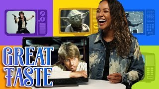 The Best Star Wars Character ft.Grace Aubry   Great Taste
