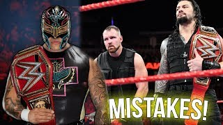 10 Mistakes WWE Is Going To Make In The Future
