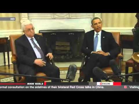 Obama, Abbas discuss Middle East peace