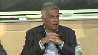 Ranil speech at MIT