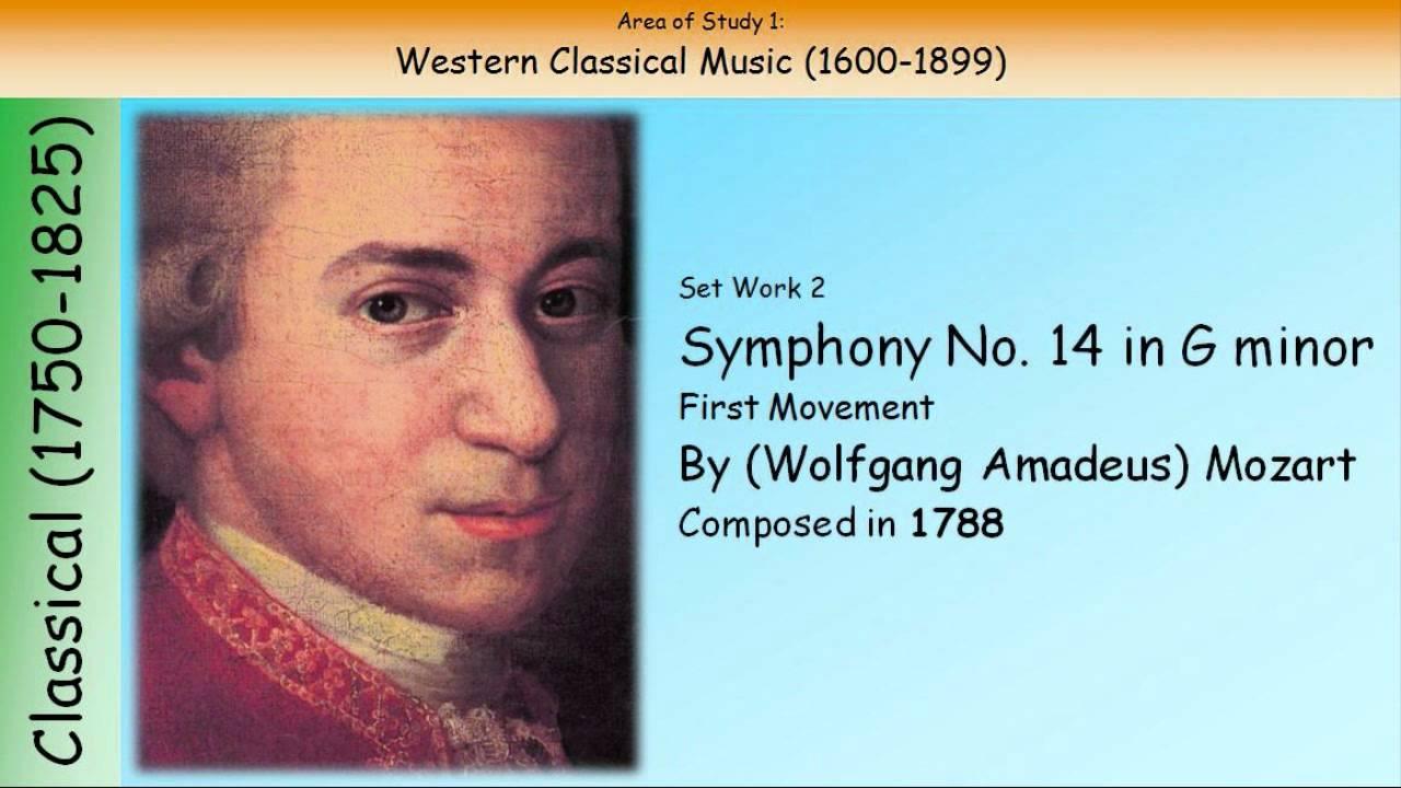 Mozart - Symphony No.40 1st movement sheet music for Classroom