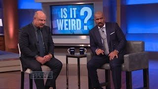 Is It Weird?: You can't keep eating that! || STEVE HARVEY