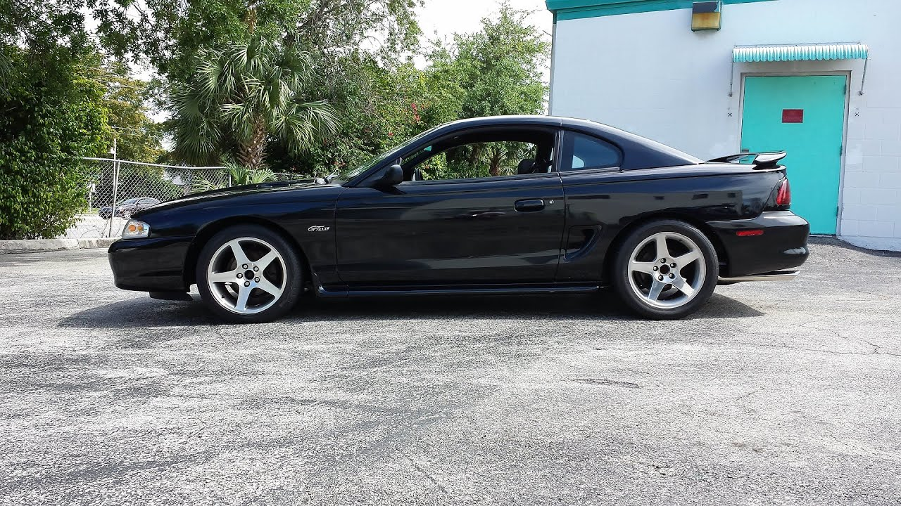 mustang 97 by 97 mustang gt supercharged with 14psi fully built youtube