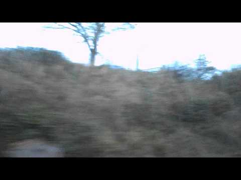 (HD) Travelling over the Kilkenny (Ireland) avoider, 5th November 2013