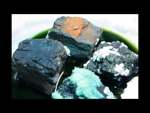 Coal crystal garden time lapse - first attempt - shorter version  How to