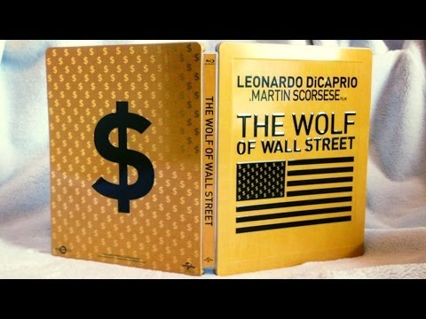 The Wolf of Wall Street SteelBook UK Exclusive Blu-ray Unboxing - (2013) - Leonardo DiCaprio
