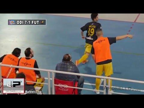 Coppa Italia B, Odissea-Futura 7-1 (13/01/16)