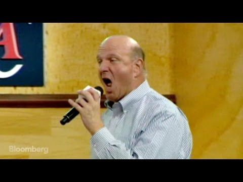 Screaming Steve Ballmer Is Excited to Own Clippers
