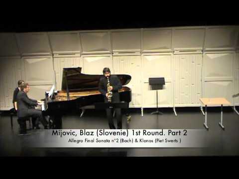 Mijovic, Blaz (Slovenie) 1st Round. Part 2