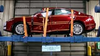 Lexus ES 350 | 2013 | Documentation for Pole Crash | NHTSA | CrashNet1 videos