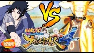 Naruto Ultimate Ninja Storm 4: Rinnegan Sasuke Vs Rikudou