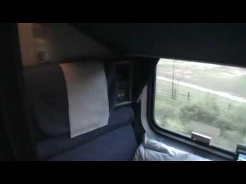 Amtrak Superliner Roomette Sleeper Accommodations