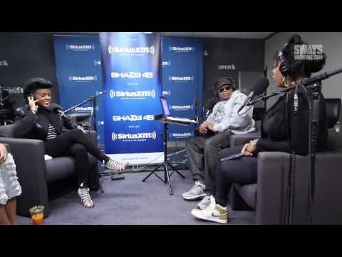 PT 1. Janelle Monae Speaks on Meeting & Collaborating with Prince on Sway in the Morning