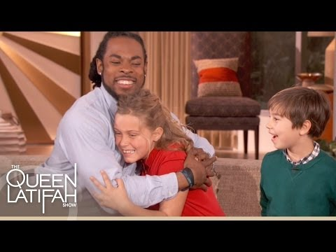 Richard Sherman's Big Suprise on The Queen Latifah Show