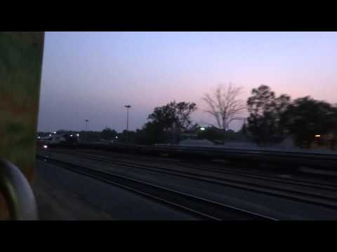 HEAVY KJM CHUGGER BLASTS WITH YPR - DELHI DURONTO AT DAWN