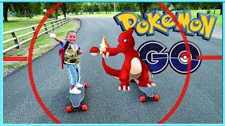 POKEMON GO + BOOSTED BOARDS |HACK? KIDS VIDEO