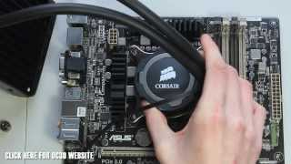 Corsair Hydro Series H75 Unboxing And Overview