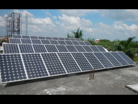 Solar Powered School Rampur (U.P.) India