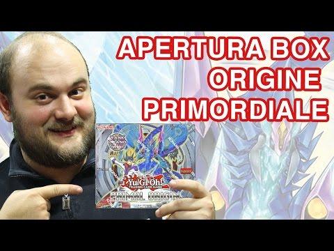 Yu Gi Oh Apertura Miglior box Origine Primordiale - Yu-Gi-Oh! PRIO