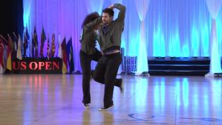 Ben Morris And Jennifer Deluca 2013 US Open Classic