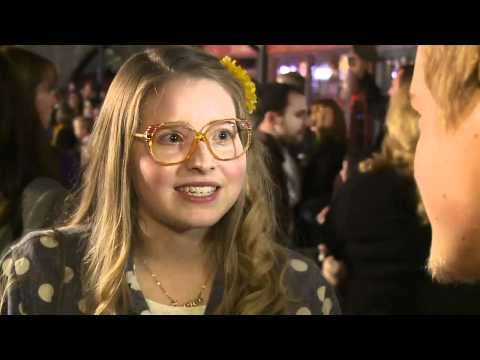 Jessie Cave on the Red Carpet at Warner Bros. Home Entertainment Celebration