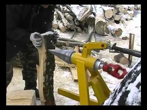 Despicator lemne antrenare pe tractor