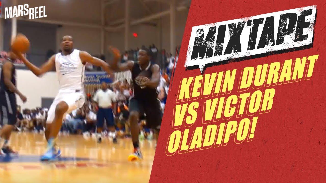 NBA新秀榜眼Victor Oladipo與Kevin Durant大鬥法 !