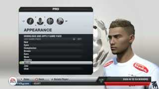 FIFA 13 How To Make Your Virtual Pro Look Like Neymar