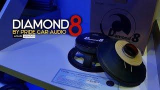 PRIDE DIAMOND 8. ОБЗОР. КРАШ-ТЕСТ. ПРОСЛУШКА.. Loud Sound Автозвук.