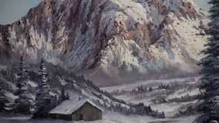 Paint With Kevin Hill Wilderness Cabin