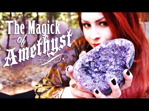 The Magick of Amethyst Crystal ~ The White Witch Parlour