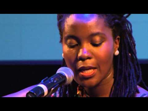 Songs about everything, fallen stars and God: Nancy G at TEDxSoweto 2013