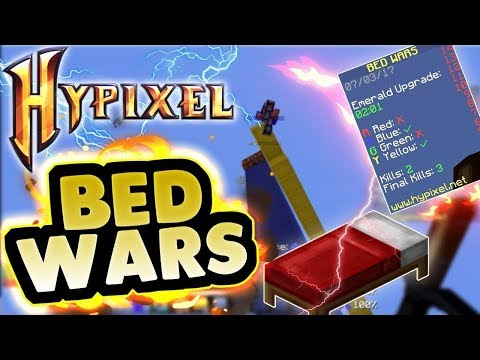🔴 BED WARS | Minecraft Hypixel | Playing With Subscribers | Im a Noob