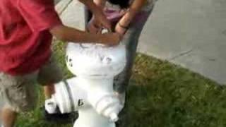 Girl Handcuffed
