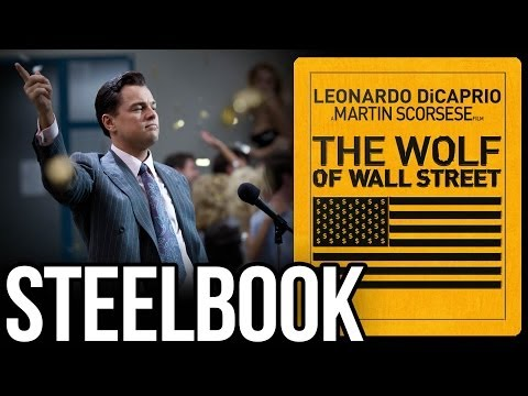 The Wolf Of Wall Street | Blu-ray Steelbook | Hi-Def Ninja.com