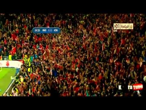 Real Madrid vs Atletico Madrid 1 - 2 Full Highlights - 17/05/2013 - Copa Del Rey