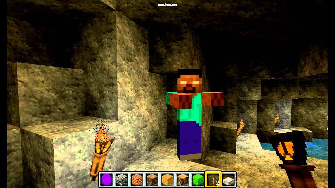 Minecraft in real life herobrine