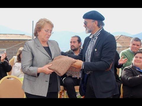 Presidenta Michelle Bachelet en La Ligua