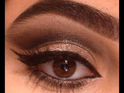 مكياج كات آي تركوازي - Turquoise Cat eye makeup