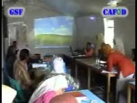 CAFOD supported by GSF  Workshop Guru kelas 3 Kec.Kaway XVI tgl 30-11-08 part 1.wmv
