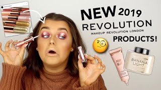 FULL FACE OF NEW IN MAKE UP REVOLUTION! OKURRR 2019 NEWNESS! | Rachel Leary