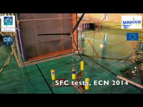 Tank testing of a Semi-Submersible Floating Combined platform (ECN)