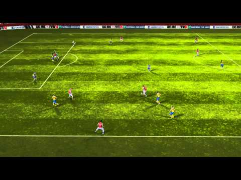 FIFA 14 Android - Arsenal VS Everton
