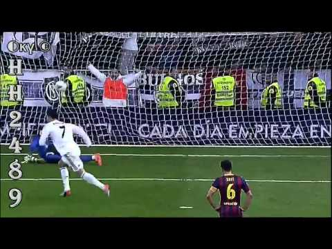 Real Madrid vs Barcelona 3-4 ~ RESUMEN y GOLES HD ~ Real Madrid 3-4 Barcelona Liga BBVA ~ 23-03-2014