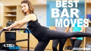 5 Barre Moves You Can Do At Home With Physique 57