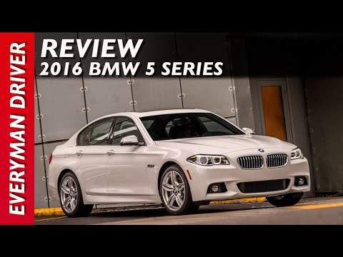 Review: 2016 BMW 5 Series on Everyman Driver