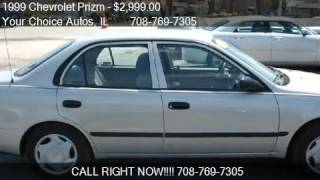 1999 Chevrolet Prizm Lsi - for sale in Posen, IL 60469