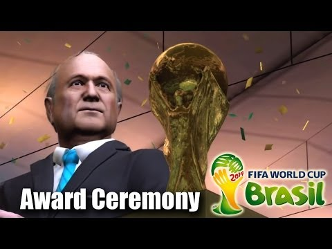 FIFA 2014 World Cup Champion Award Ceremony